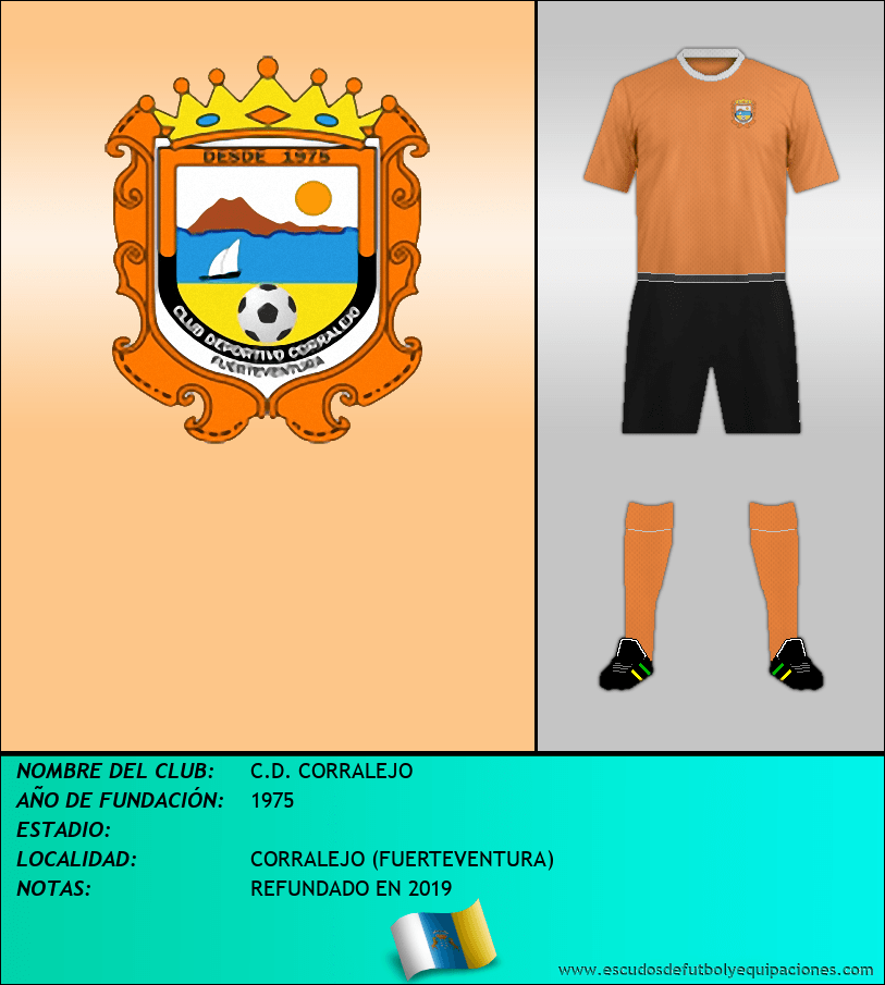 Escudo de C.D. CORRALEJO