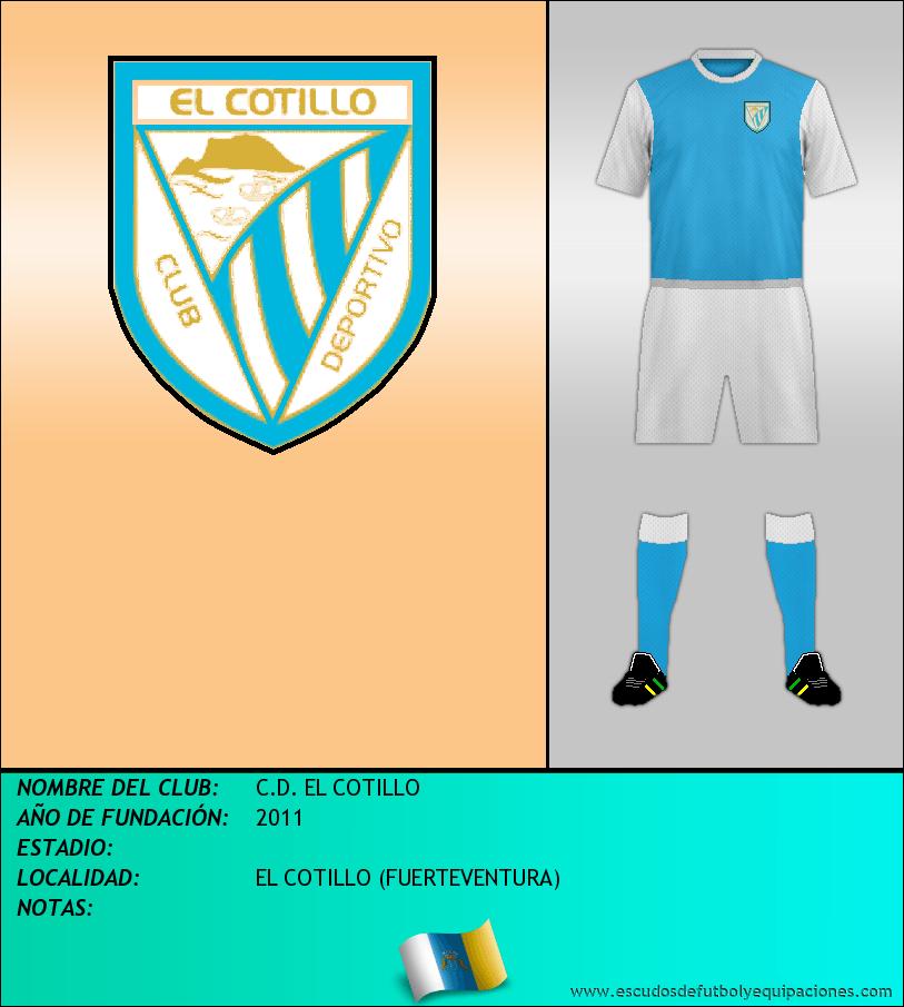 Escudo de C.D. EL COTILLO