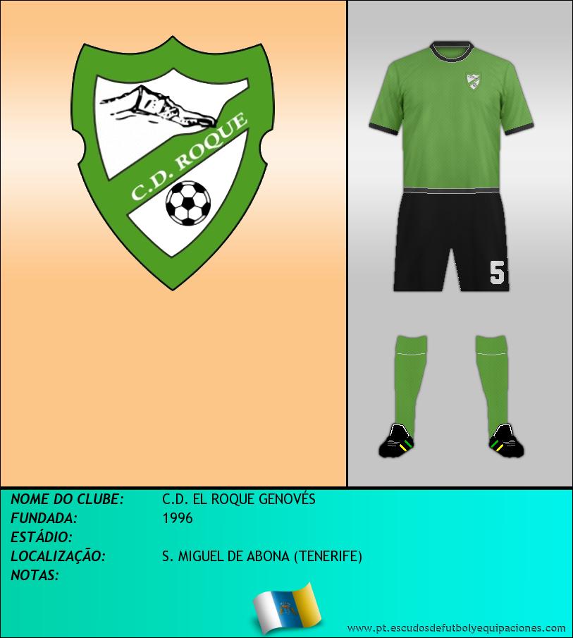 Escudo de C.D. EL ROQUE GENOVÉS