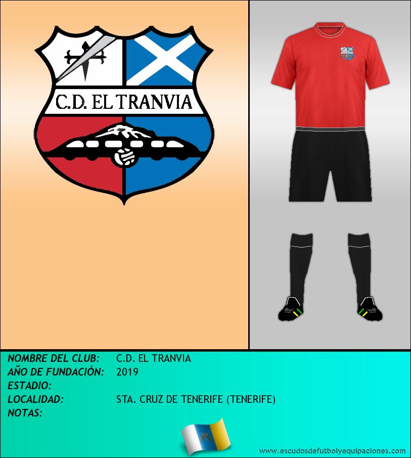 Escudo de C.D. EL TRANVIA