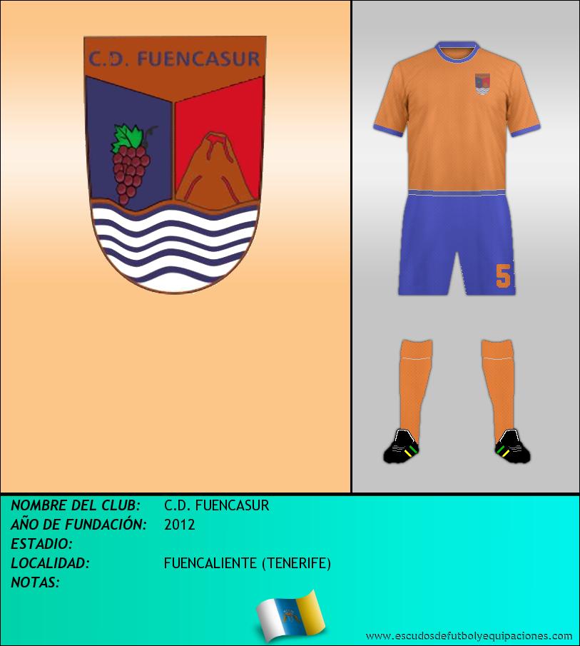 Escudo de C.D. FUENCASUR