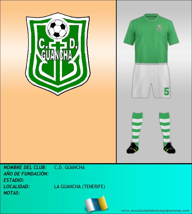 Escudo de C.D. GUANCHA