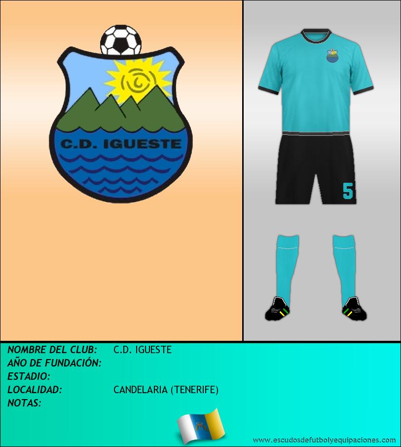 Escudo de C.D. IGUESTE