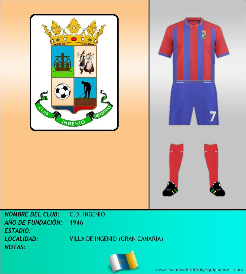 Escudo de C.D. INGENIO