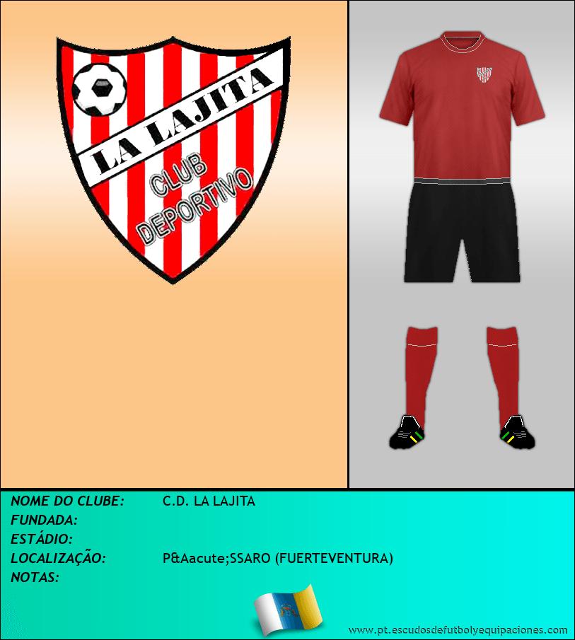 Escudo de C.D. LA LAJITA