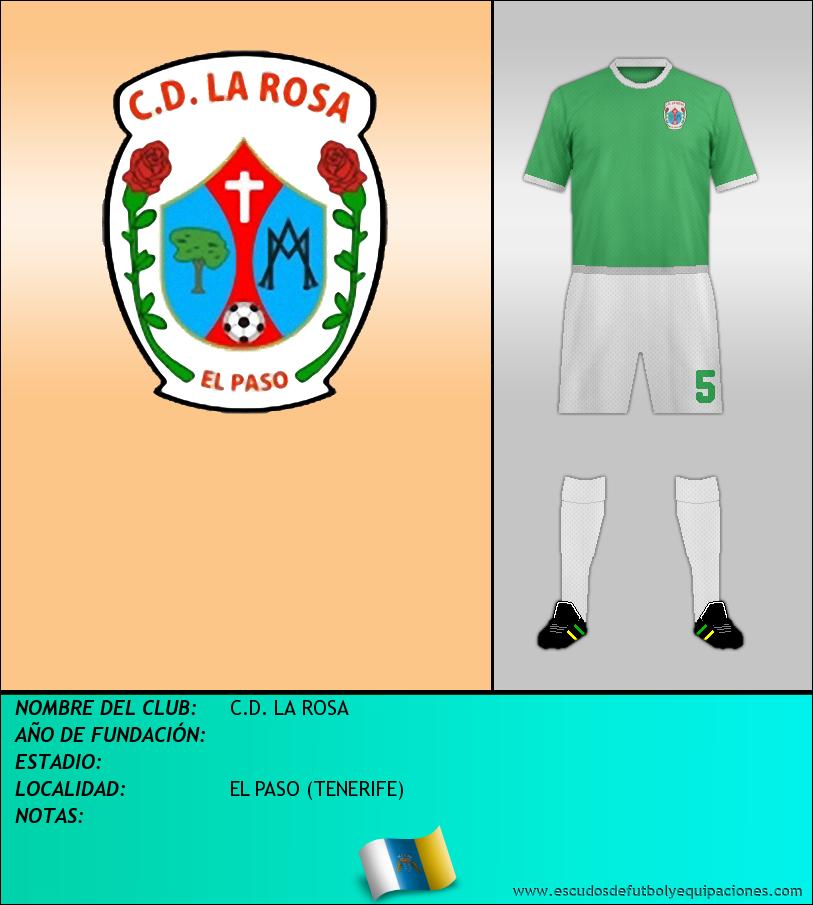 Escudo de C.D. LA ROSA