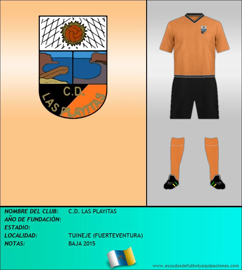 Escudo de C.D. LAS PLAYITAS