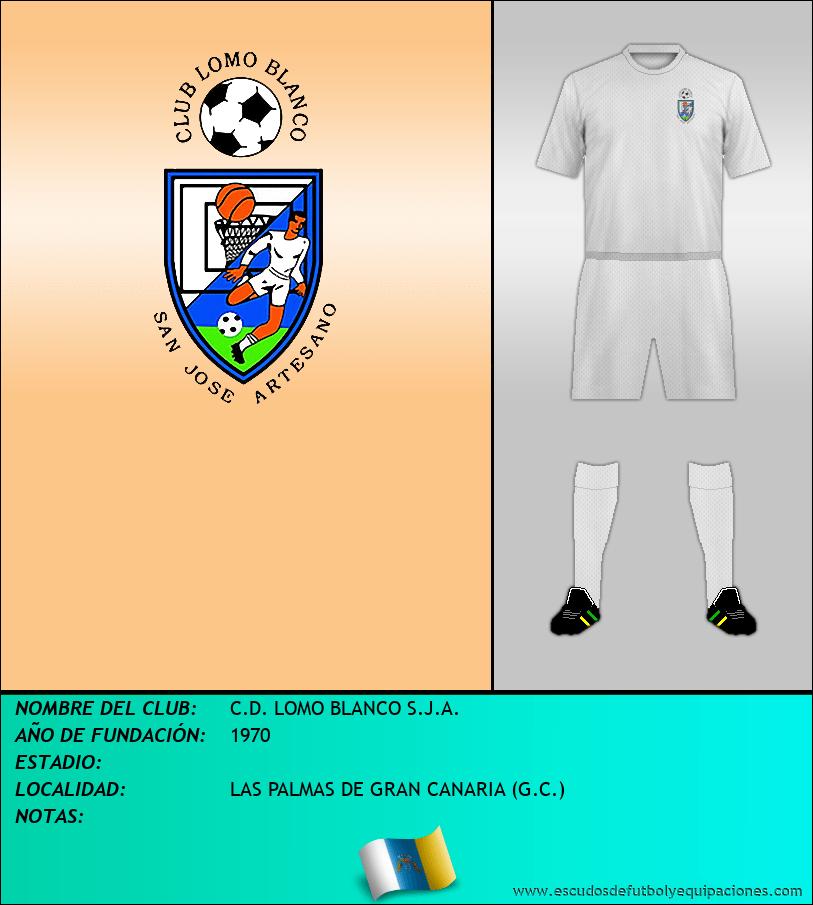Escudo de C.D. LOMO BLANCO S.J.A.