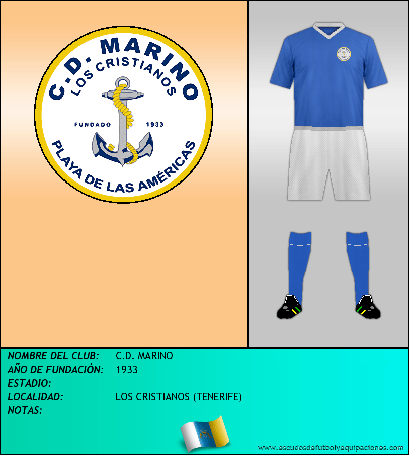 Escudo de C.D. MARINO