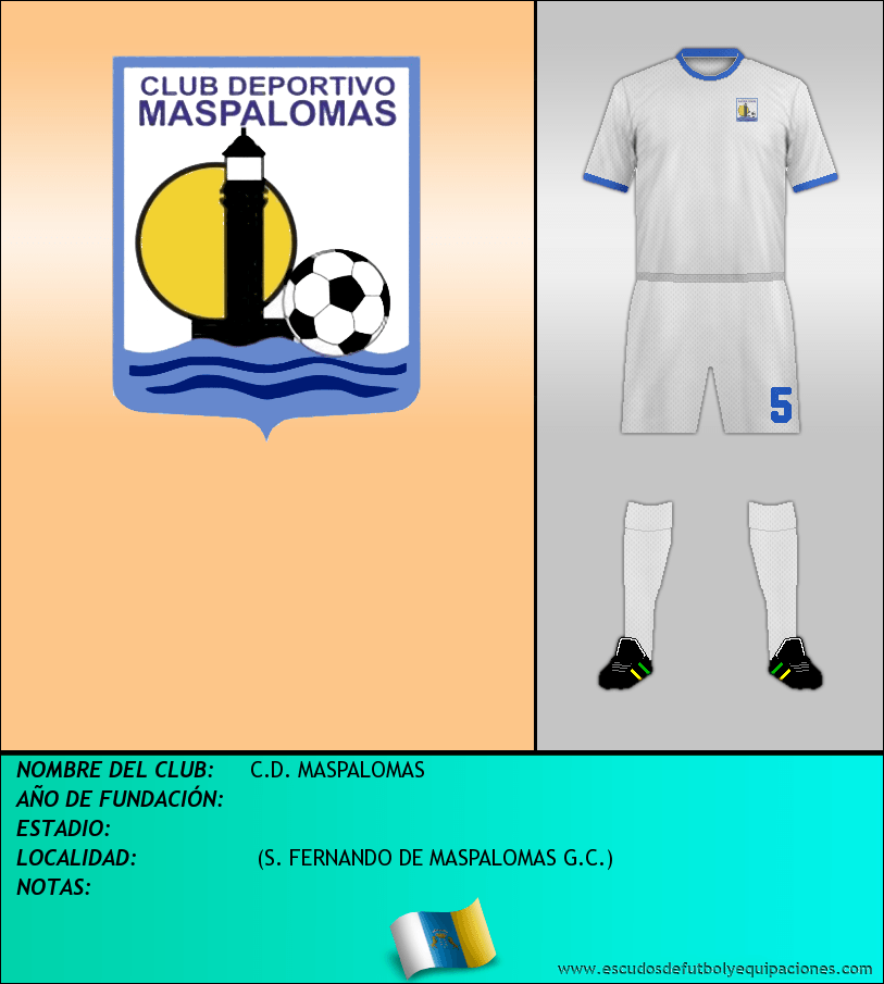 Escudo de C.D. MASPALOMAS