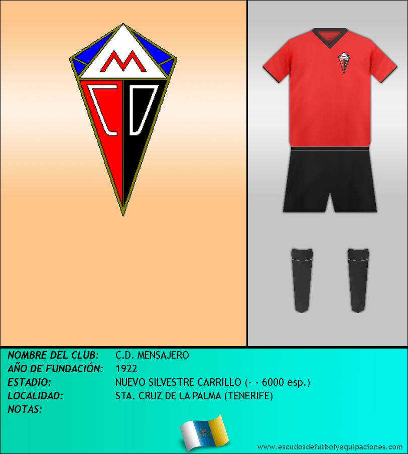 Escudo de C.D. MENSAJERO