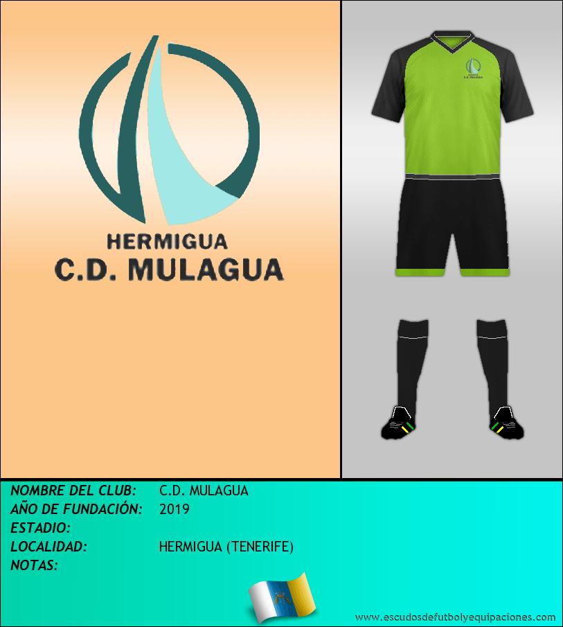 Escudo de C.D. MULAGUA