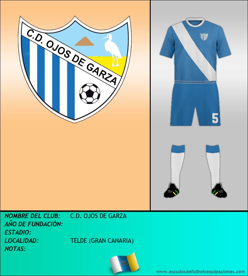 Escudo de C.D. OJOS DE GARZA