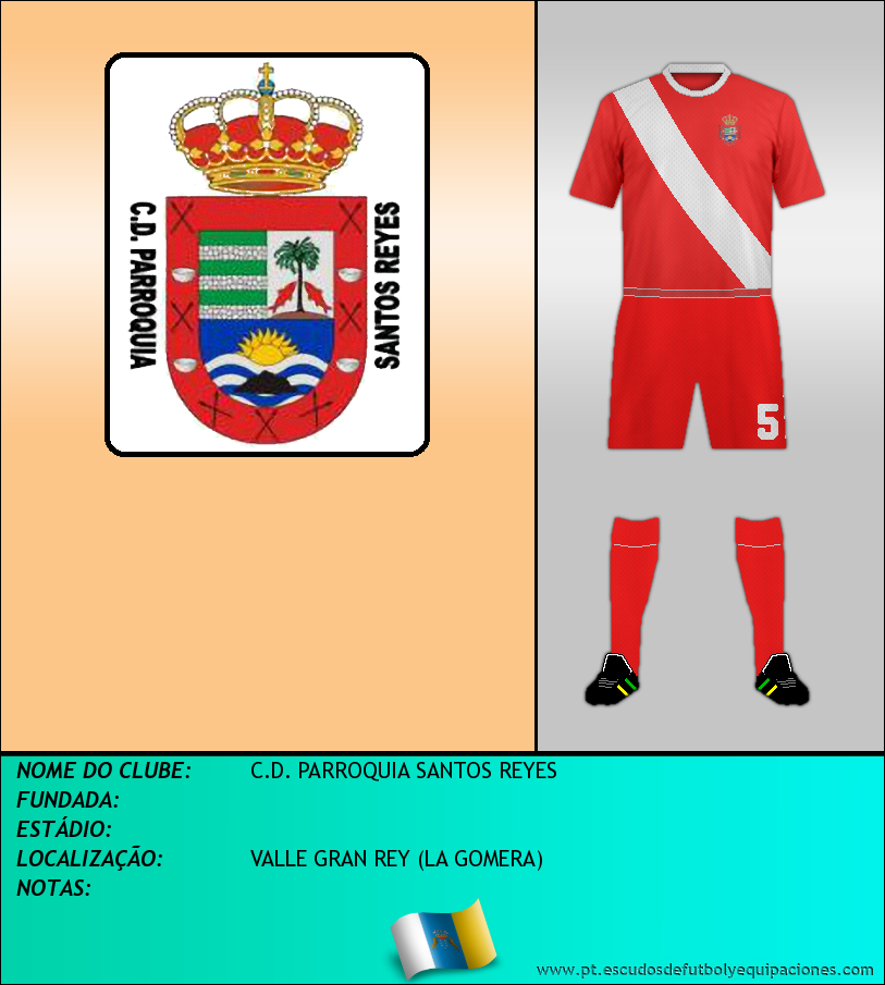Escudo de C.D. PARROQUIA SANTOS REYES