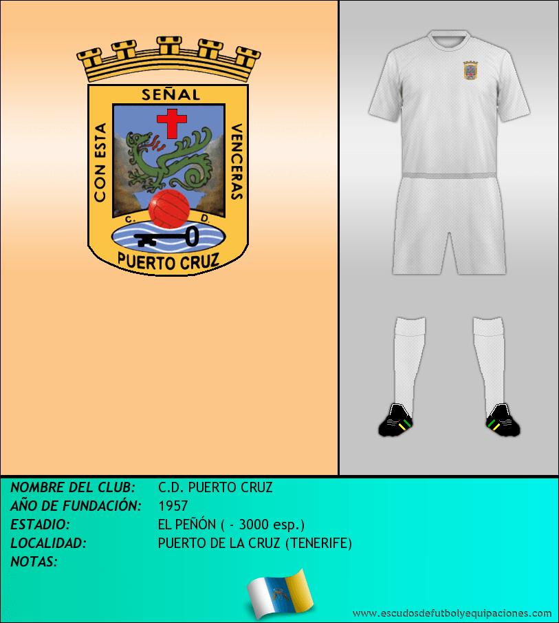 Escudo de C.D. PUERTO CRUZ