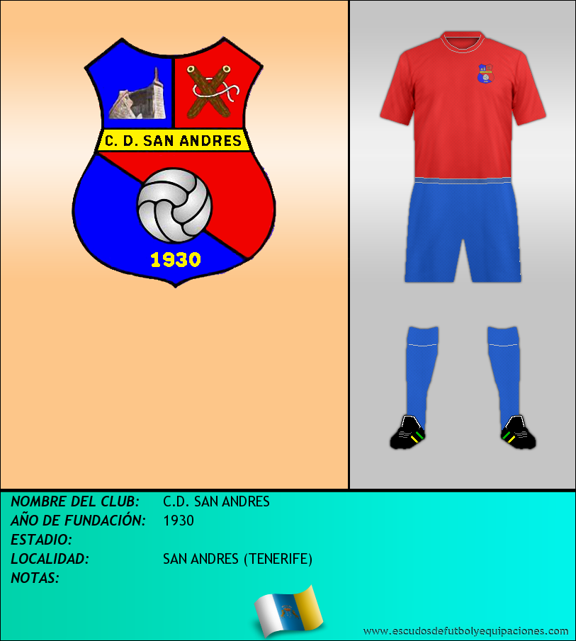 Escudo de C.D. SAN ANDRES