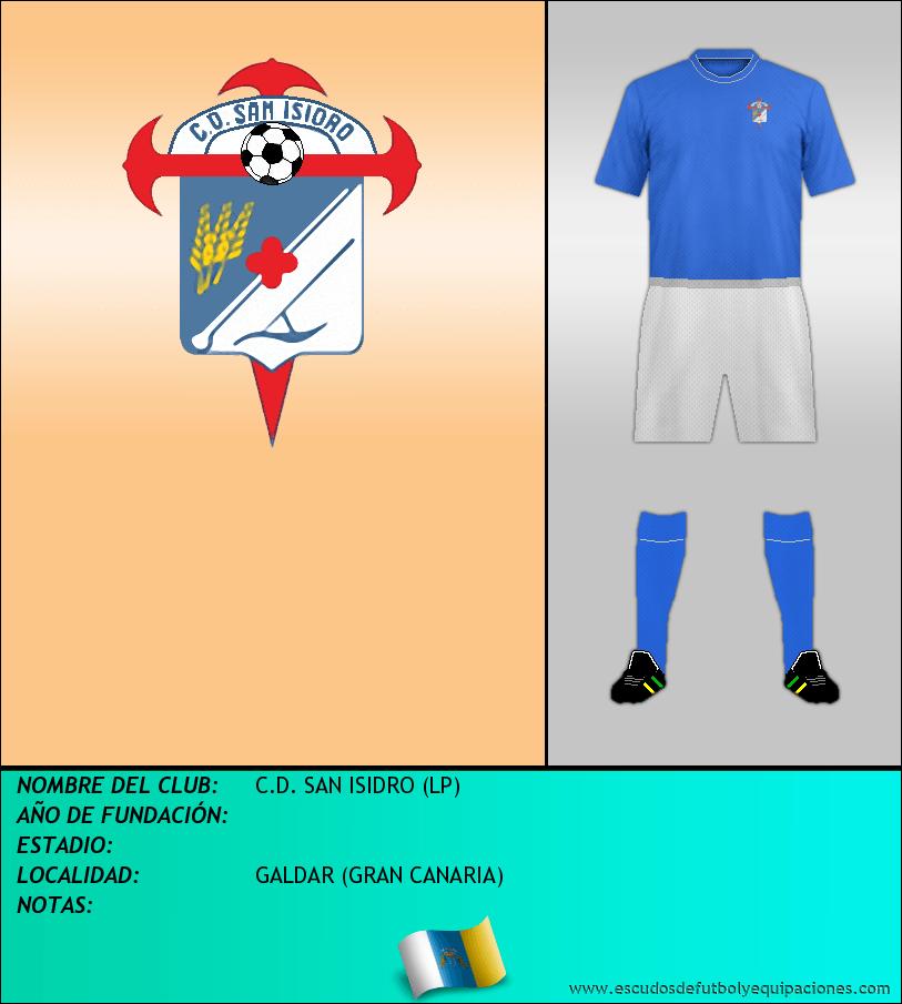 Escudo de C.D. SAN ISIDRO (LP)