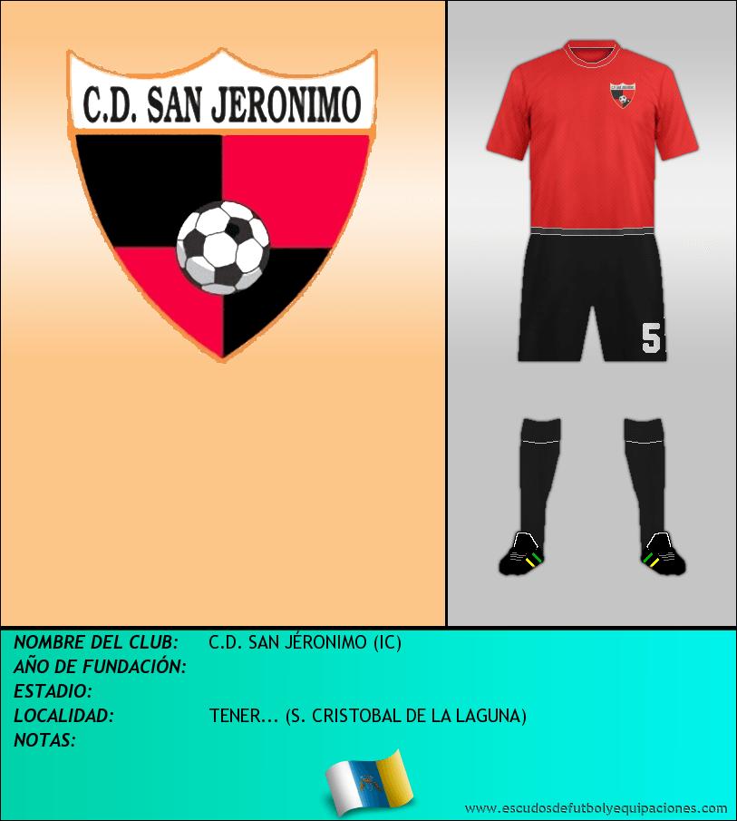 Escudo de C.D. SAN JÉRONIMO (IC)