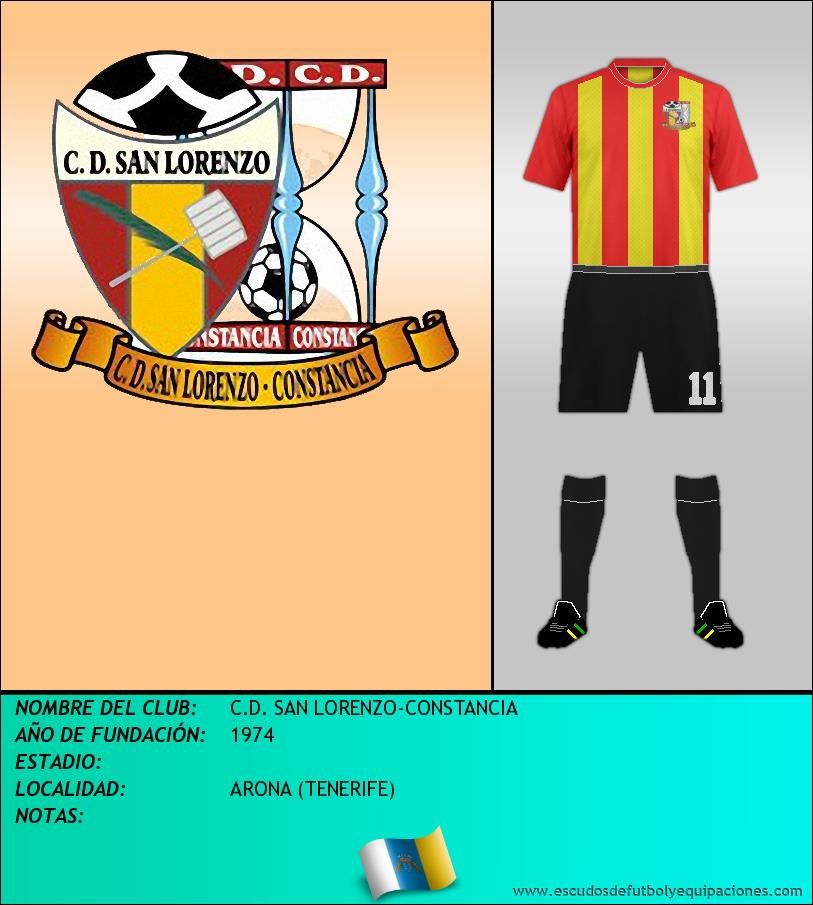 Escudo de C.D. SAN LORENZO-CONSTANCIA
