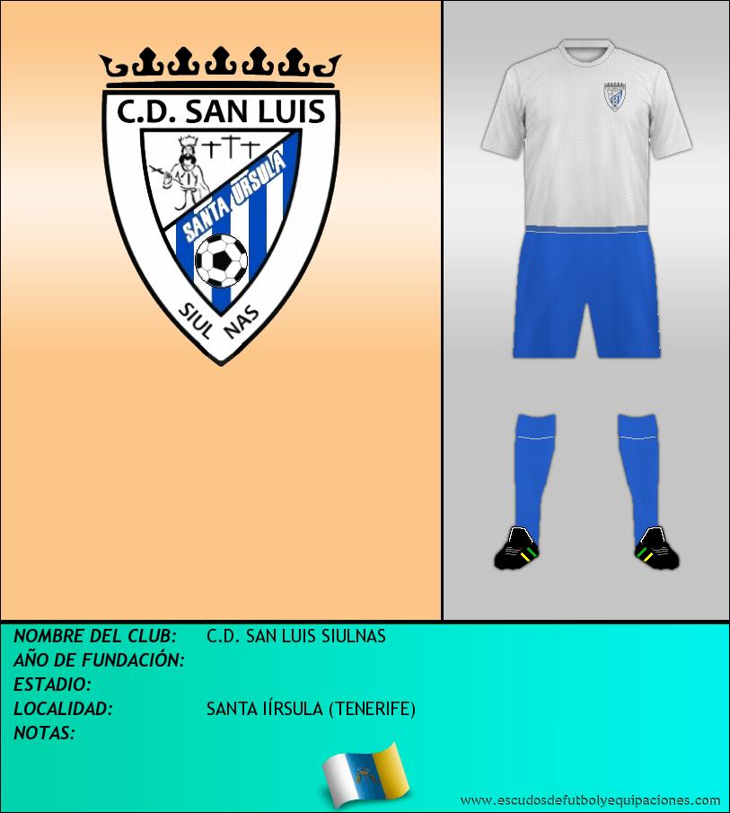 Escudo de C.D. SAN LUIS SIULNAS