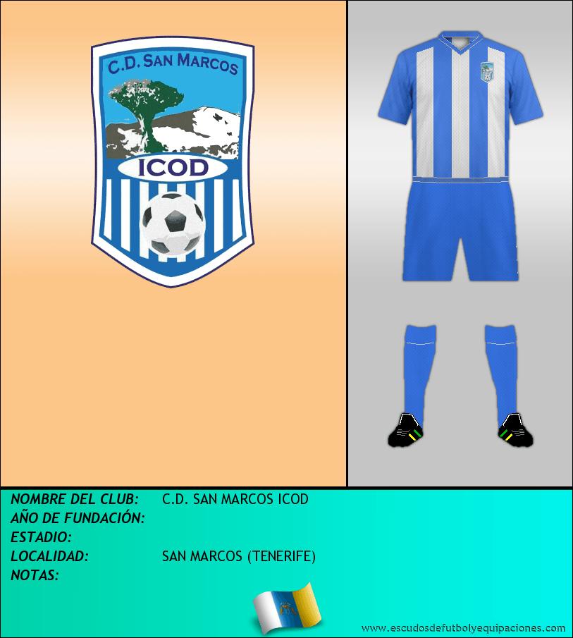 Escudo de C.D. SAN MARCOS ICOD