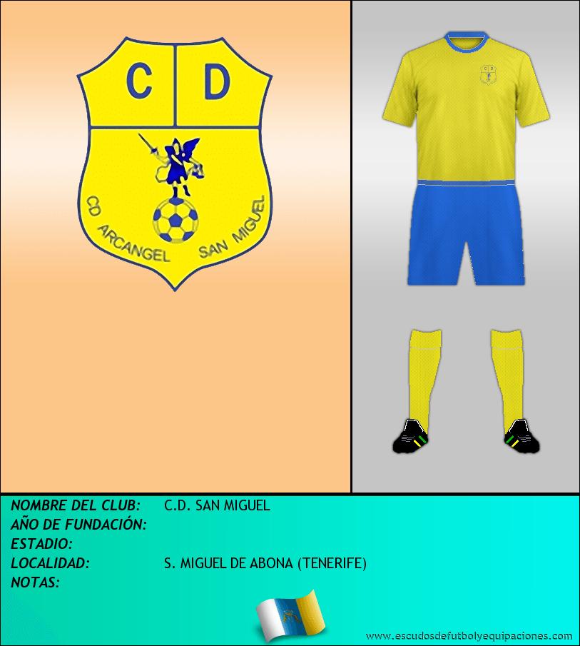 Escudo de C.D. SAN MIGUEL
