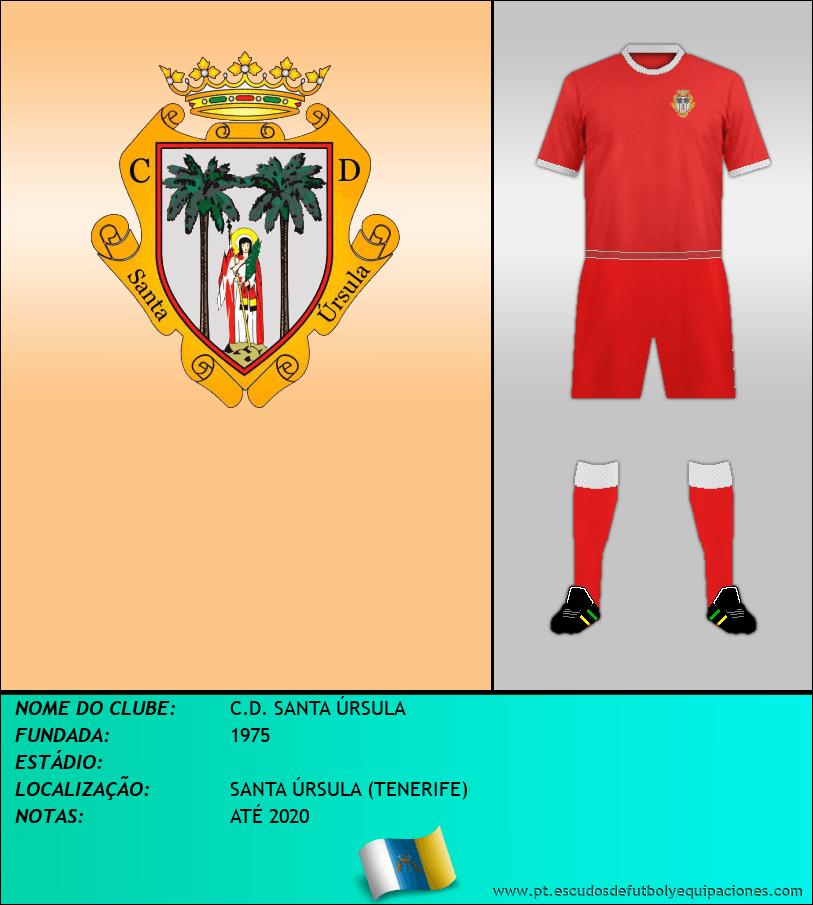 Escudo de C.D. SANTA ÚRSULA
