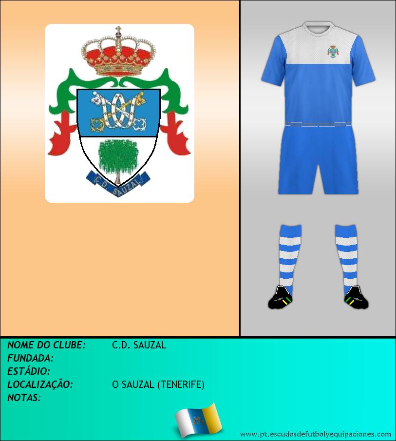 Escudo de C.D. SAUZAL