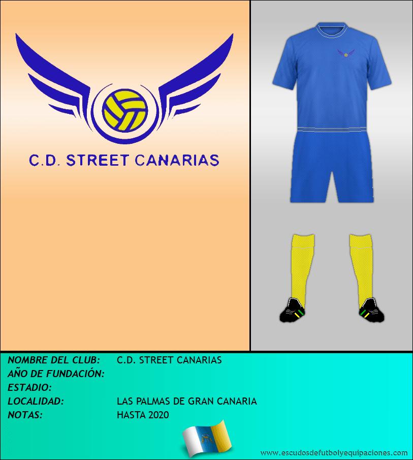 Escudo de C.D. STREET CANARIAS