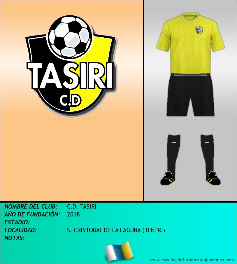 Escudo de C.D. TASIRI