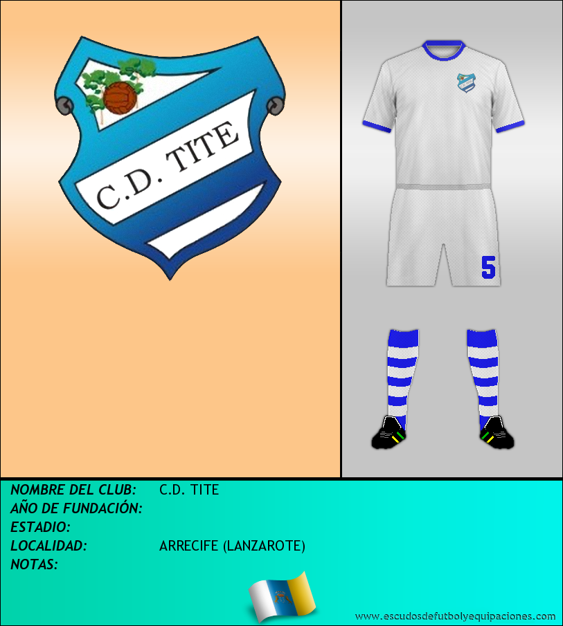 Escudo de C.D. TITE