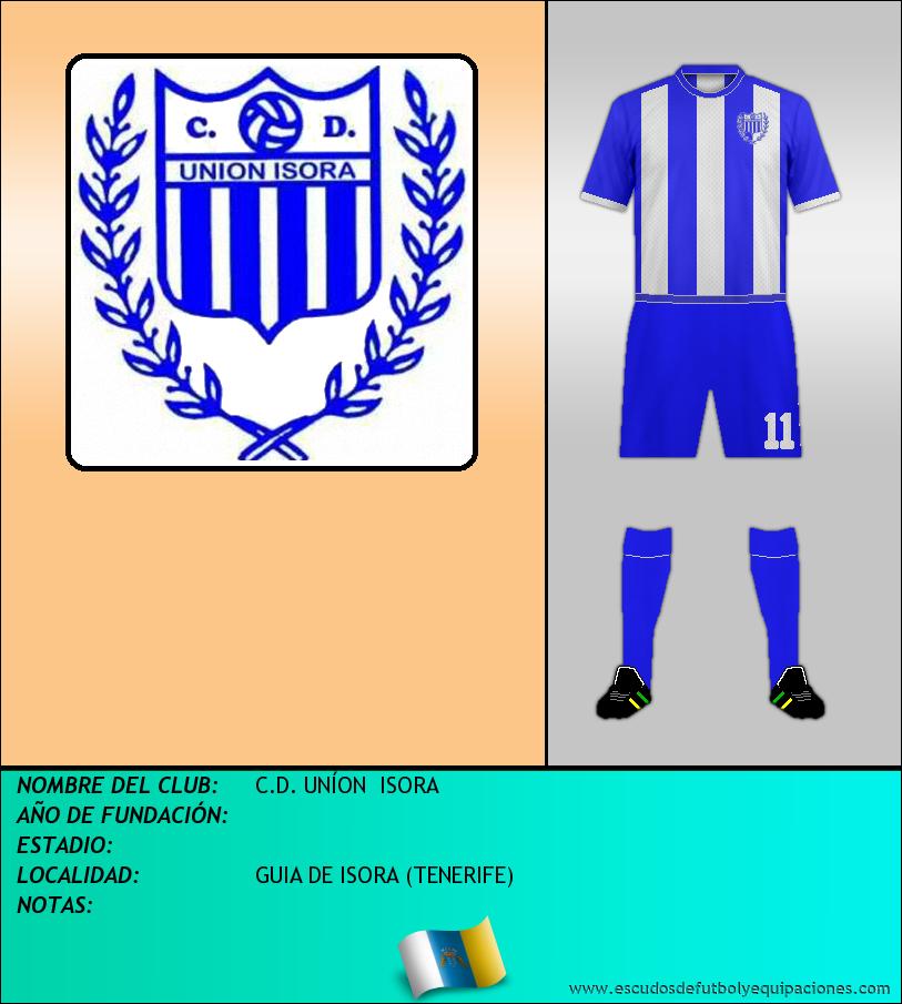 Escudo de C.D. UNÍON  ISORA