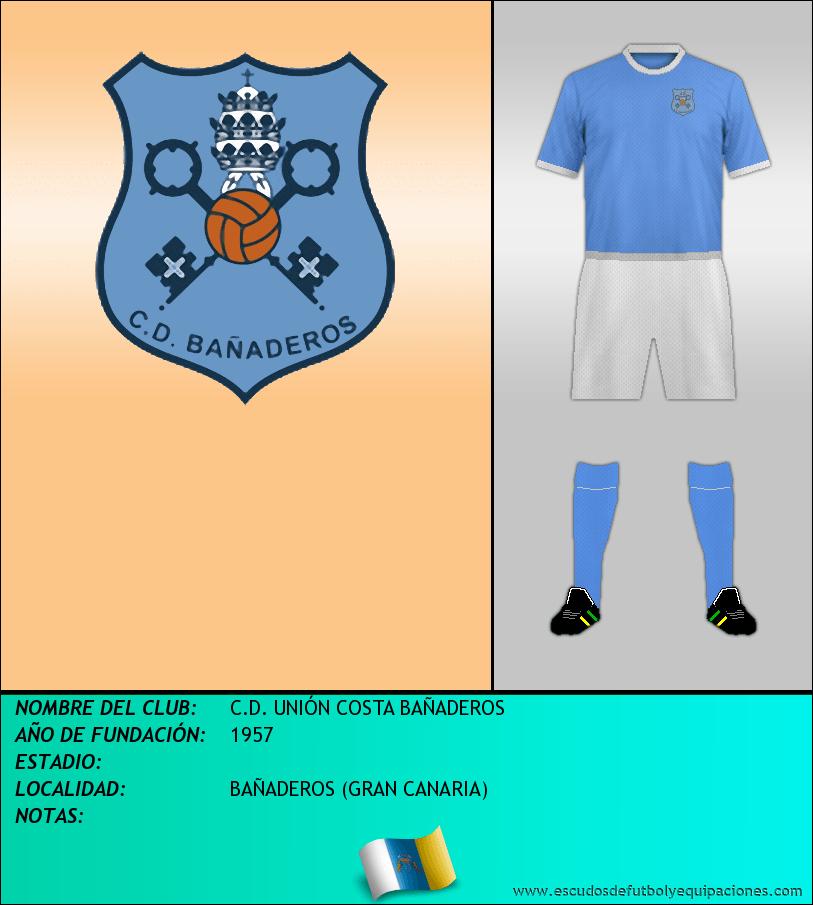 Escudo de C.D. UNIÓN COSTA BAÑADEROS