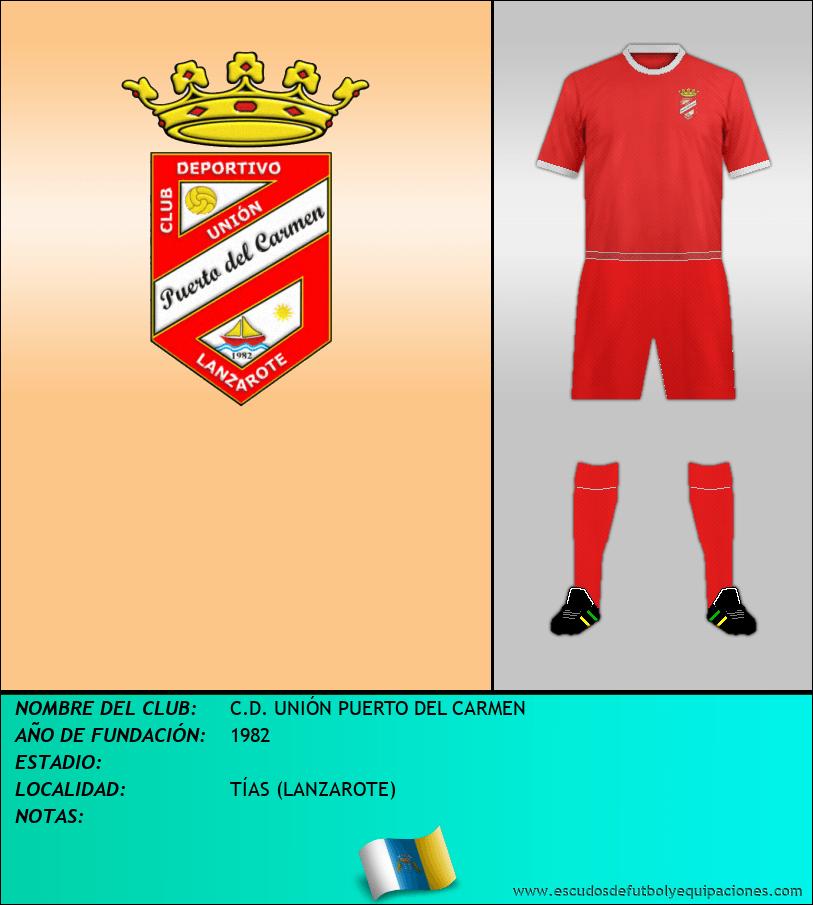 Escudo de C.D. UNIÓN PUERTO DEL CARMEN