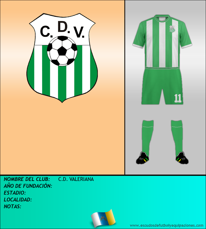 Escudo de C.D. VALERIANA