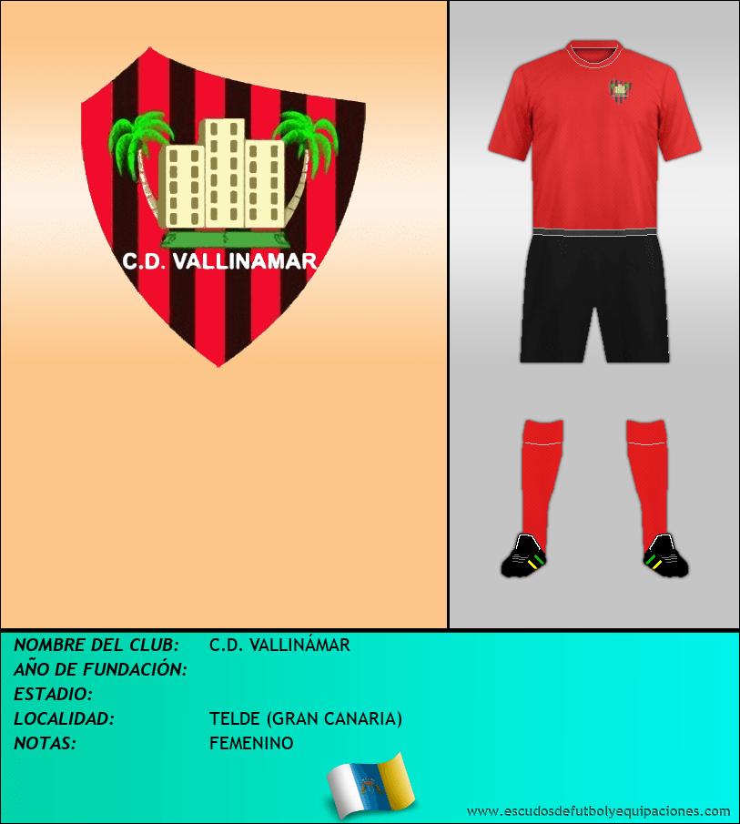 Escudo de C.D. VALLINÁMAR