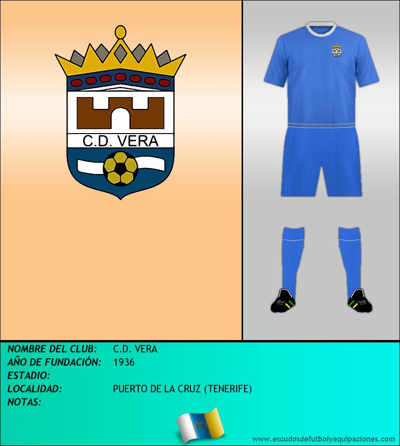 Escudo de C.D. VERA
