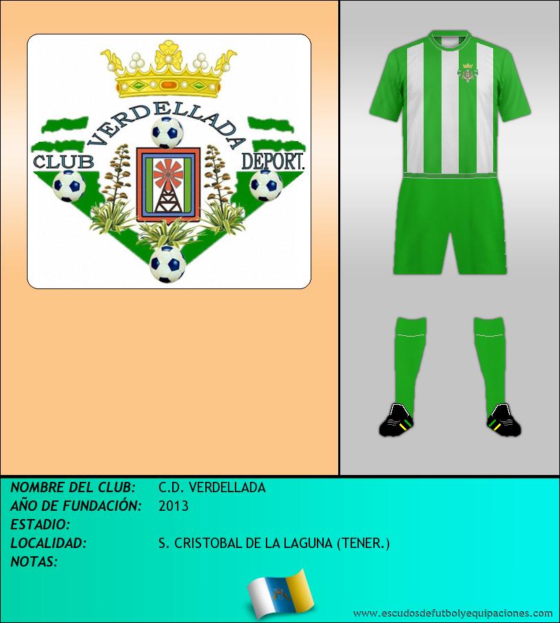 Escudo de C.D. VERDELLADA