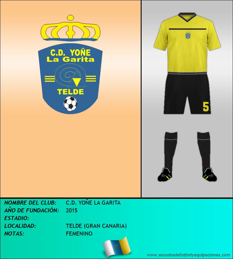 Escudo de C.D. YOÑE LA GARITA