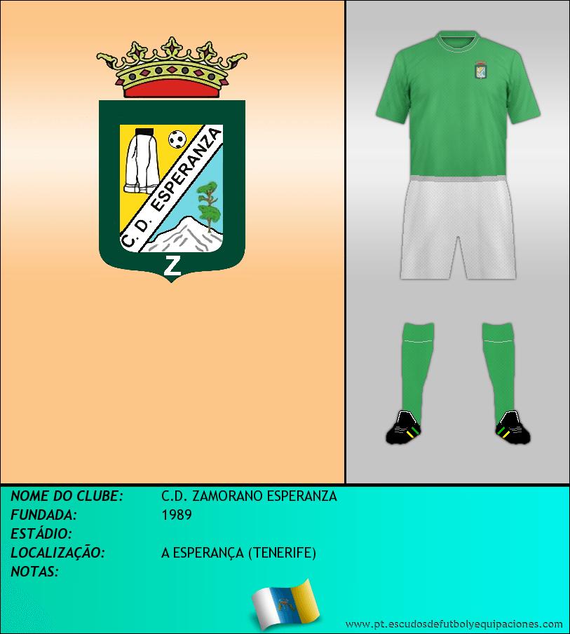 Escudo de C.D. ZAMORANO ESPERANZA
