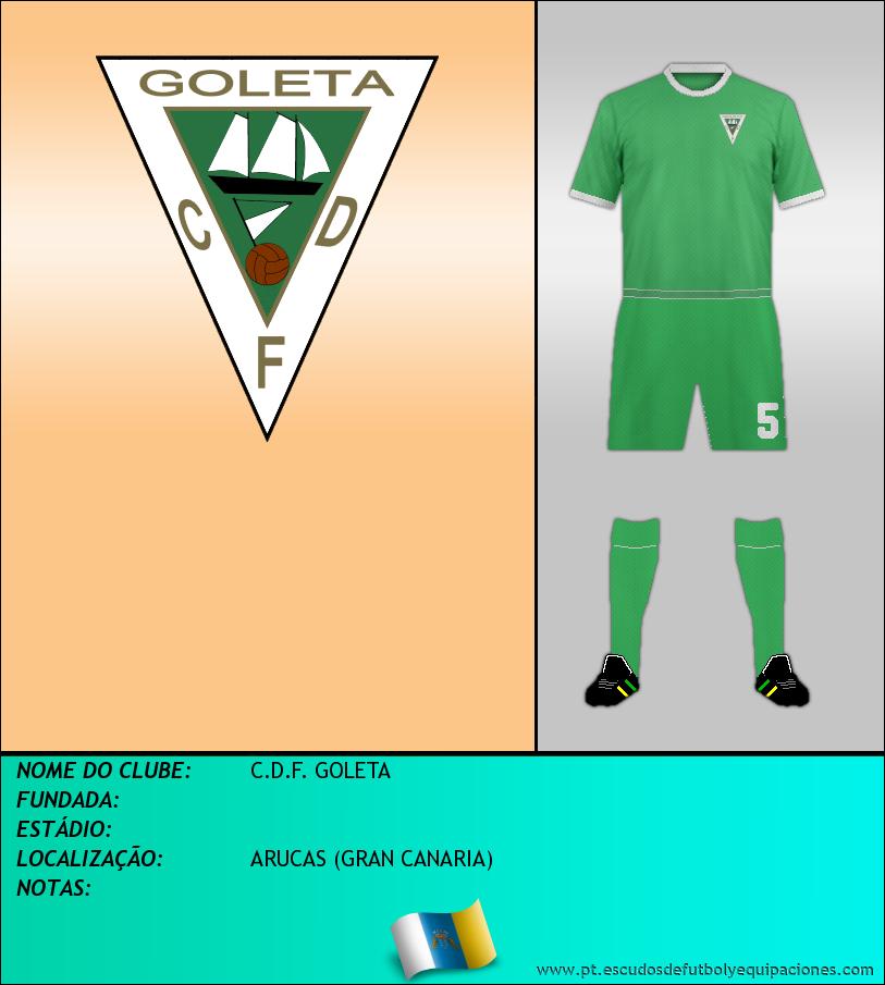 Escudo de C.D.F. GOLETA