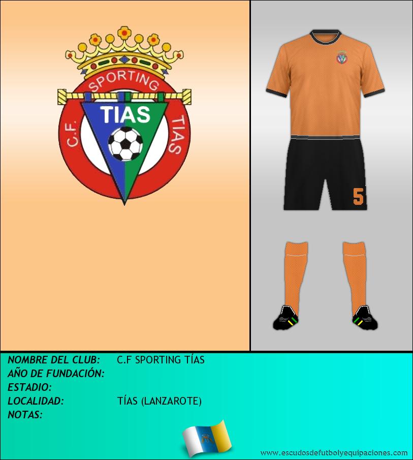 Escudo de C.F SPORTING TÍAS