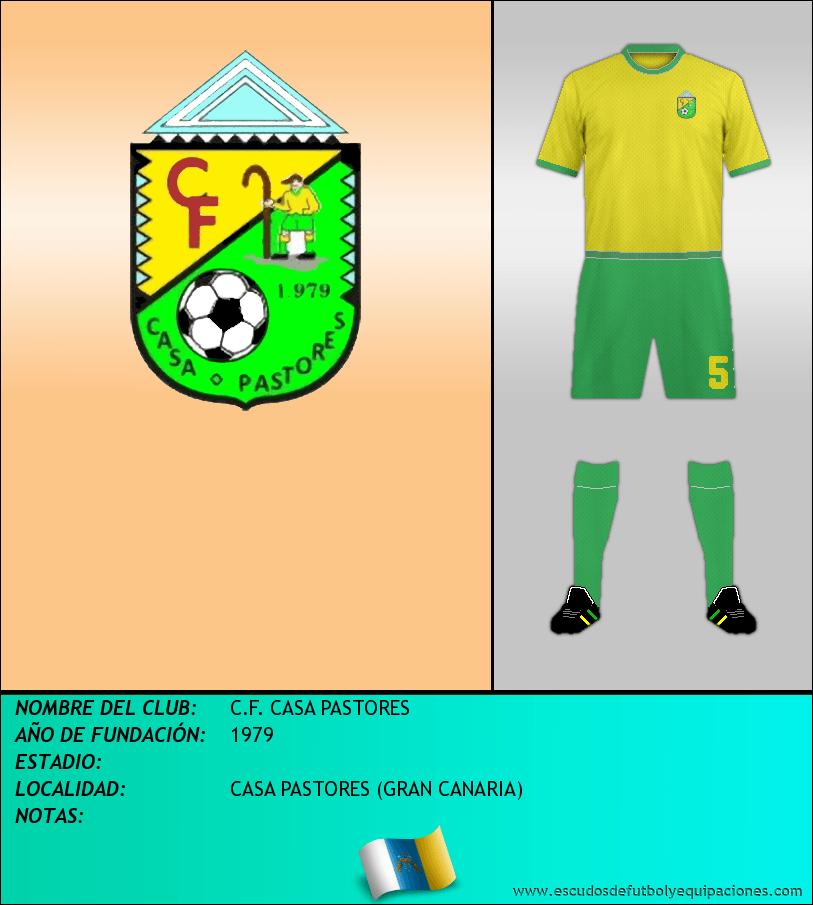 Escudo de C.F. CASA PASTORES