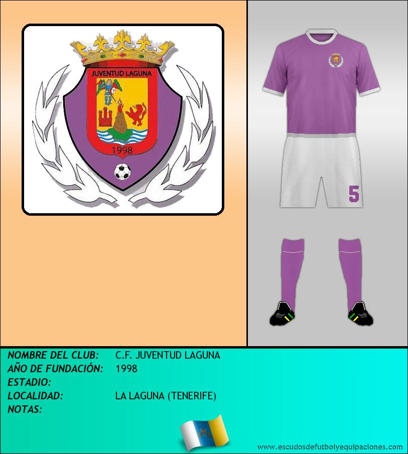 Escudo de C.F. JUVENTUD LAGUNA