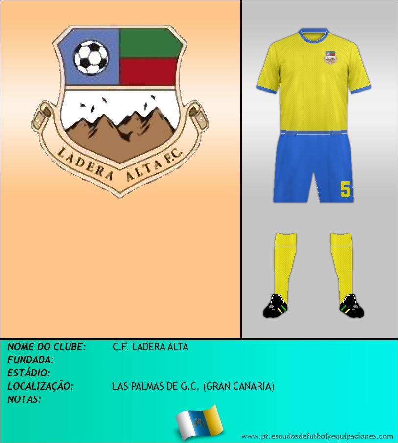 Escudo de C.F. LADERA ALTA