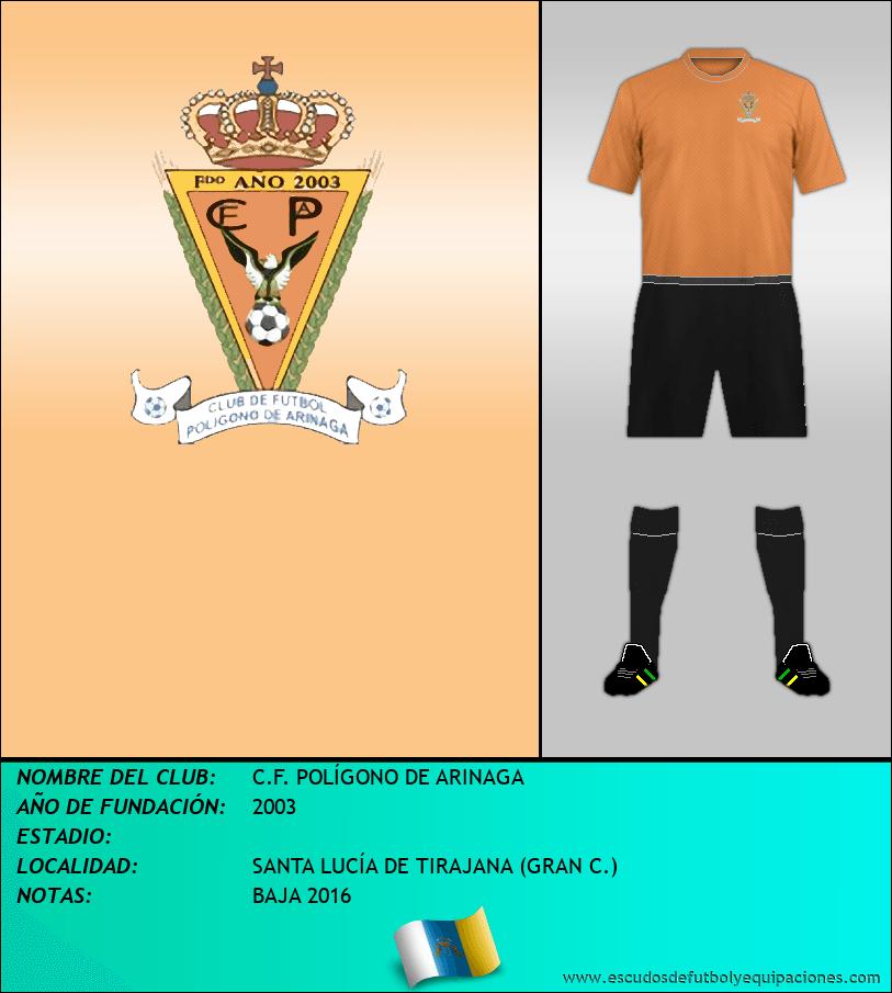 Escudo de C.F. POLÍGONO DE ARINAGA