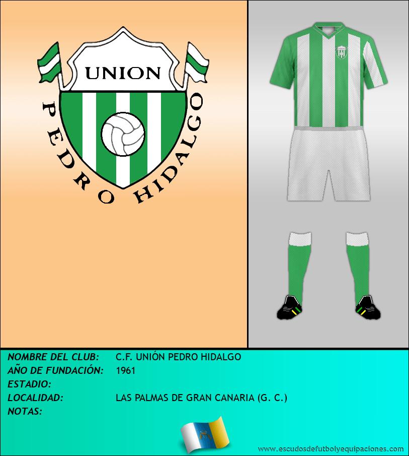 Escudo de C.F. UNIÓN PEDRO HIDALGO