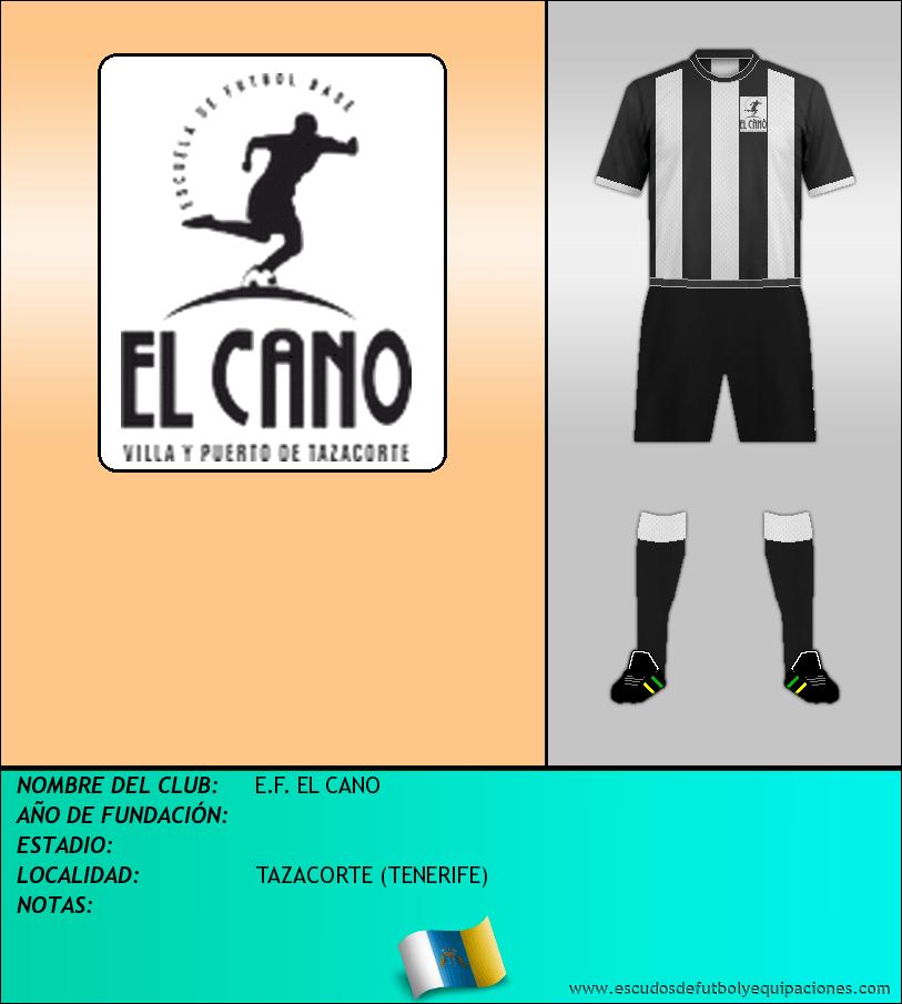Escudo de E.F. EL CANO