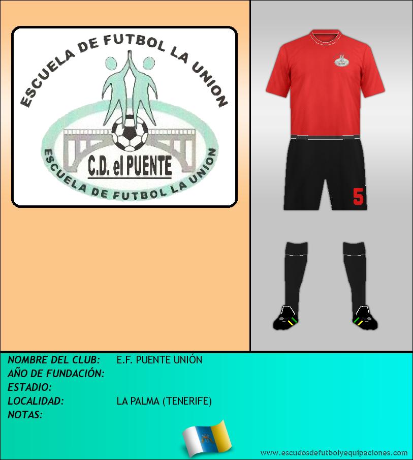 Escudo de E.F. PUENTE UNIÓN