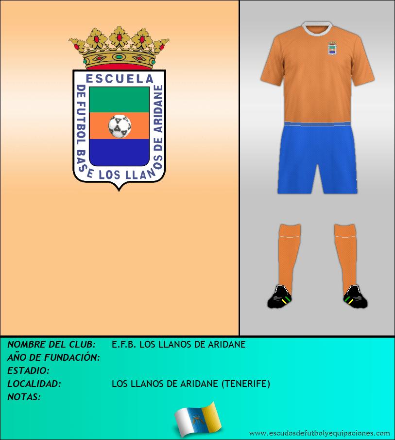 Escudo de E.F.B. LOS LLANOS DE ARIDANE